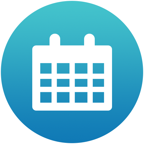 collection calendar button