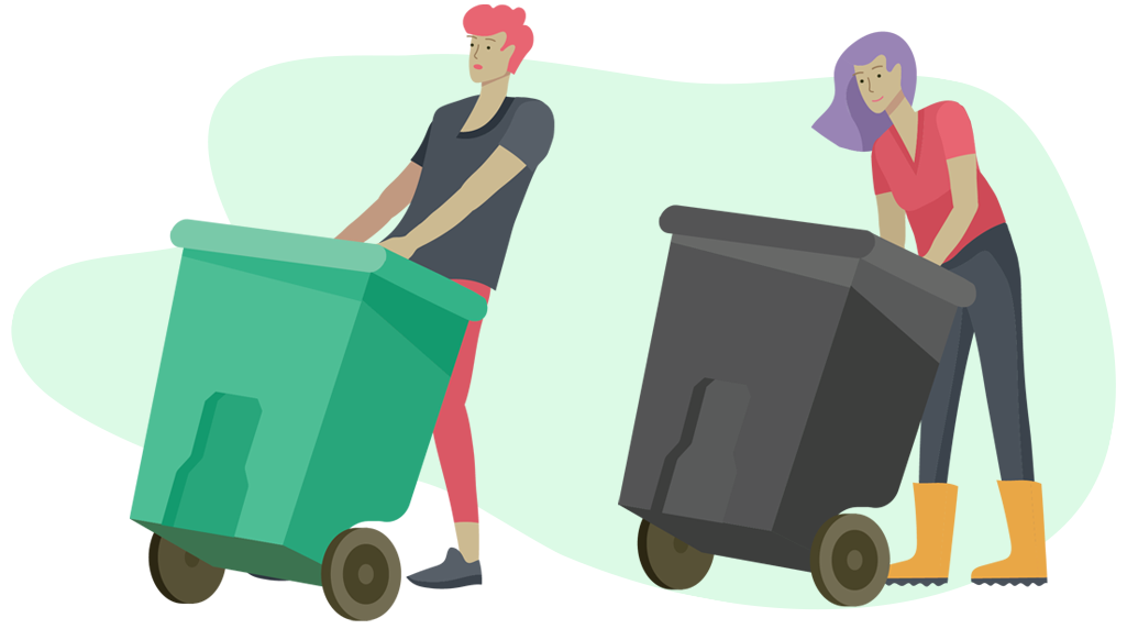 island waste management - cart service