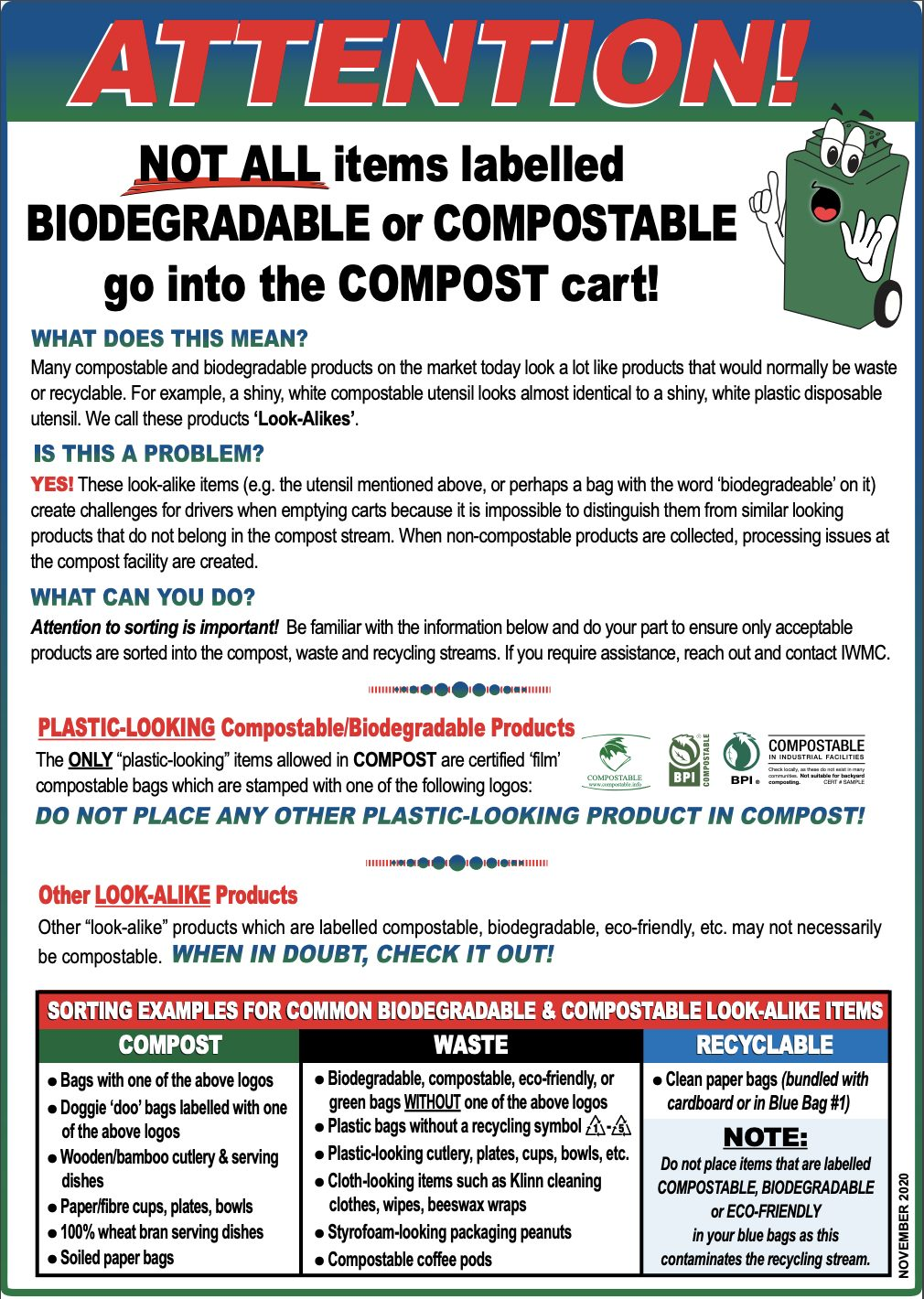 Poster for Compost Guide PEI