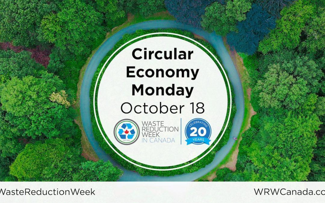 2021 Waste Reduction Week: Circular Economy Monday